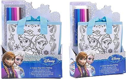 OFICIAL Disney Elsa Congelados, Anna & Olof Arte Set Para ...