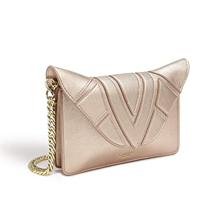 614e8e4ac5 LaBante - Monarch- Vegan Leather Crossbody bags for women - rose gold purse  quilted bag