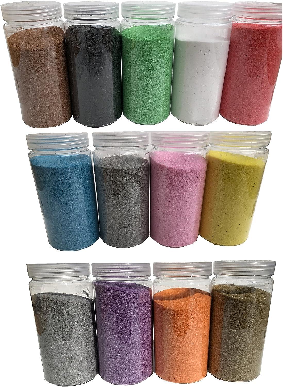 Rhinestone Paradise - Arena decorativa de cuarzo para esparcir (600 g), color negro, blanco, verde, azul, rojo, gris, amarillo, dorado, plateado