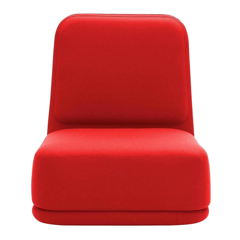Softline inactivo Sillón Alto, Pieza única - Color Rojo Piel ...