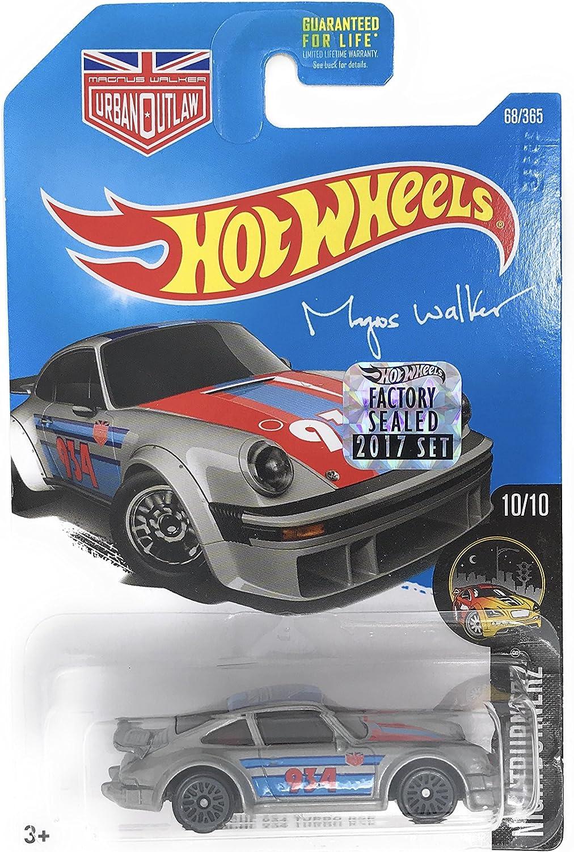 Hot Wheels 2017 Night Burnerz Magnus Walker Porsche 934 Turbo RSR 68/365, Silver