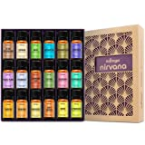 Amazon Price History for:Natrogix Nirvana Essential Oils - Top 18 Essential Oils Set 100% Pure Therapeutic Grade 18/10ml Incl. Lavender, Moroccan Rosemary, Tea Tree, Eucalyptus, Lemongrass and 13 More w/ Free E-Book