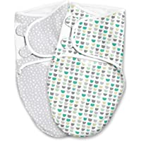 SwaddleMe Luxe Easy Change Swaddle - Small/Medium, 2 Pack, Gum Drops, 0-3 Months