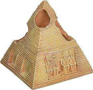 "Penn-Plax 5.5"" Egyptian Pyramid Resin Aquarium Ornament"
