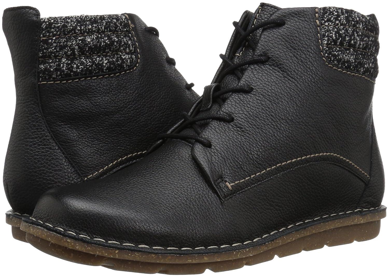 CLARKS Women's Tamitha Rose Boot B01MXXVSNP 9 B(M) US|Black Leather