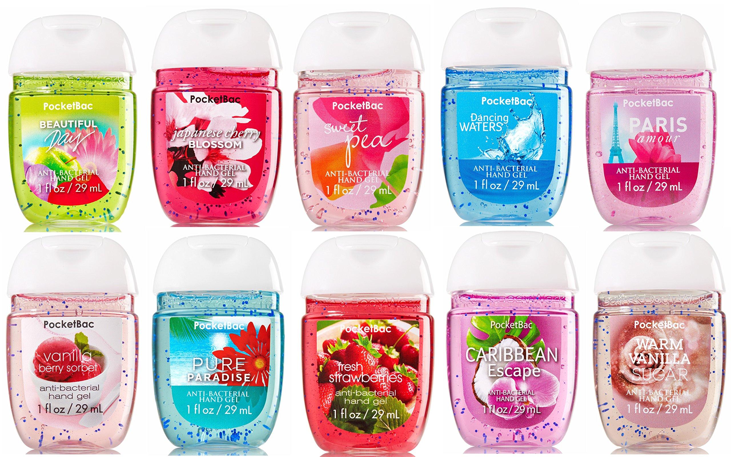 Bath & Body Works PocketBac Hand Sanitizer Classic Favorites 10pc Bundle by Bath & Body Works