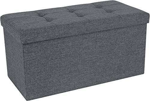 SONGMICS Storage Ottoman Bench