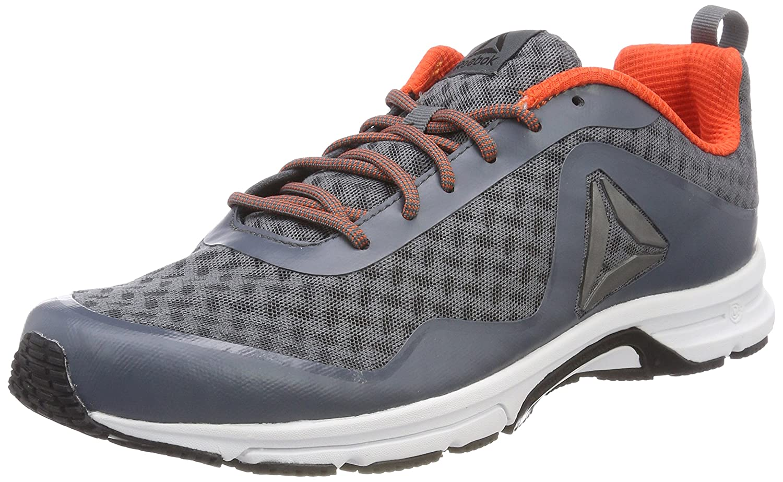 Reebok Triplehall 7.0, Zapatillas de Running para Hombre 46 EU Gris (Alloy/Bright Lava/Black/White/Pewter)