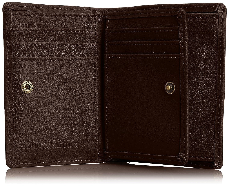 2d72be8ba078 Amazon | [イギンボトム] 短財布 ウォッシュレザー カードスライダーポケット IG-3150 ブラウン | 財布