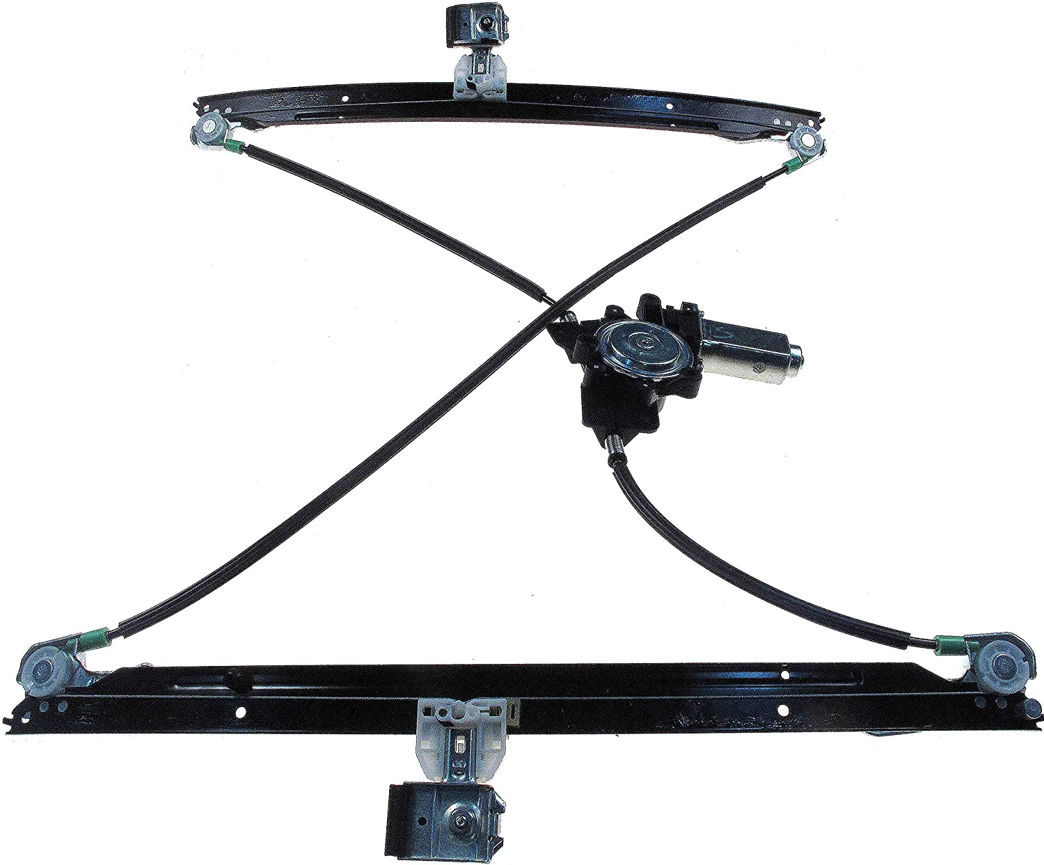 Power Window Regulator with Motor Assembly Replacement Front Left Drivers Side Window Regulator fit for 2004-2007 Chrysler Town and Country 2004-2007 Dodge Caravan//Grand Caravan 4894527AA 741-534