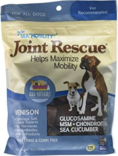 product image for Ark Naturals Sea Mobility Venison Jerky For Dogs, 9-Ounce Pouches (Pack Of 2)