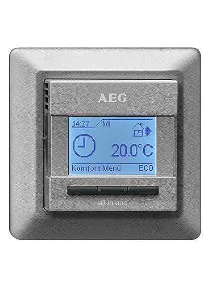 AEG 231682 - Accesorio para termostatos, color: plateado