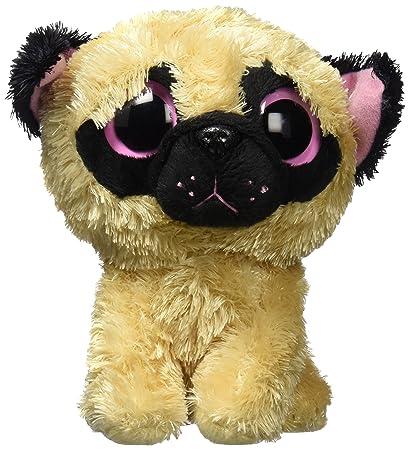 Amazon Com Ty Pugsly The Brown Black Pug Dog Puppy Beanie Boos 5