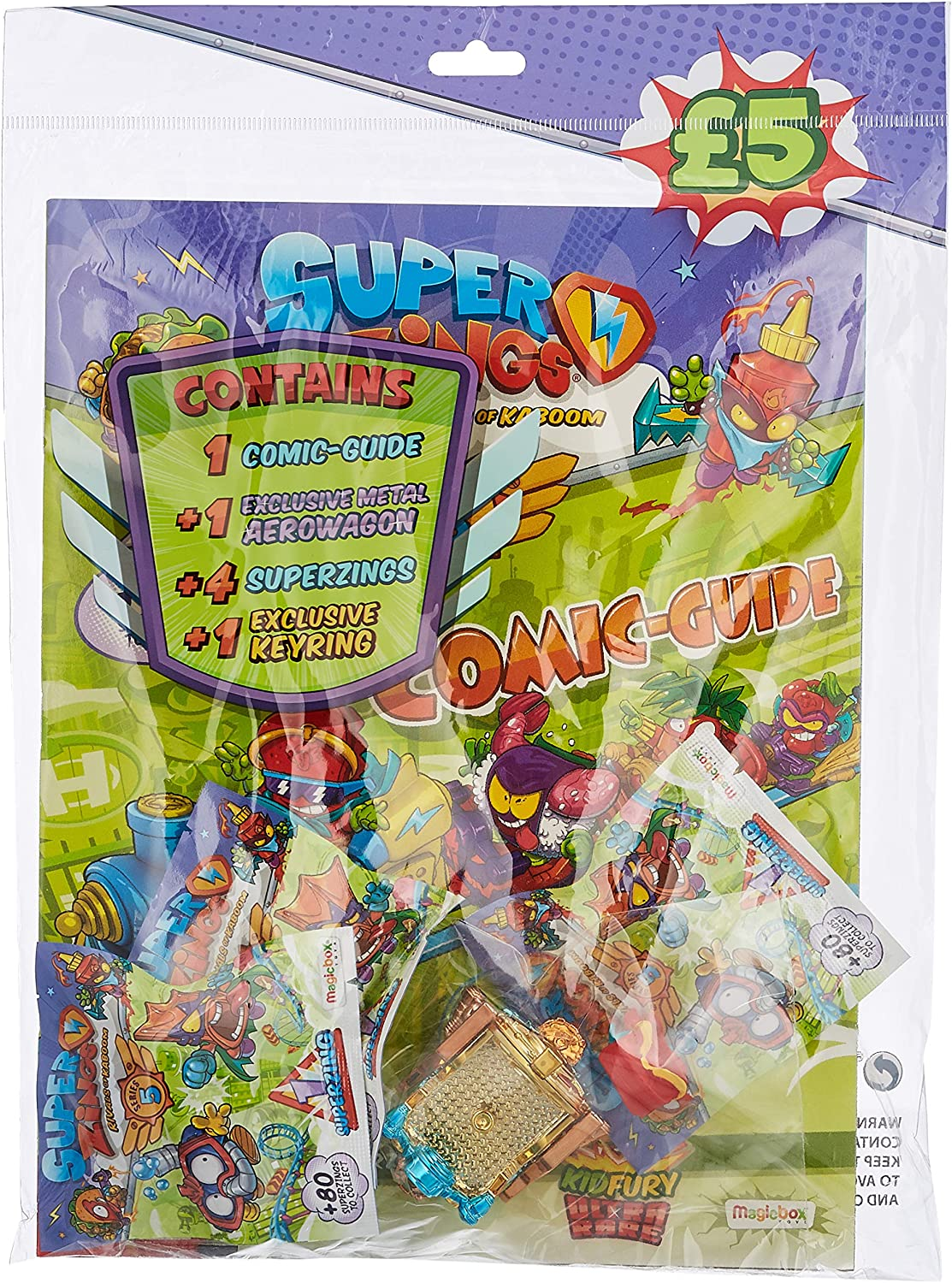 SUPERZINGS- Series 5 Starter Pack (Magic Box PSZ5S112SP00) , color/modelo surtido: Amazon.es: Juguetes y juegos