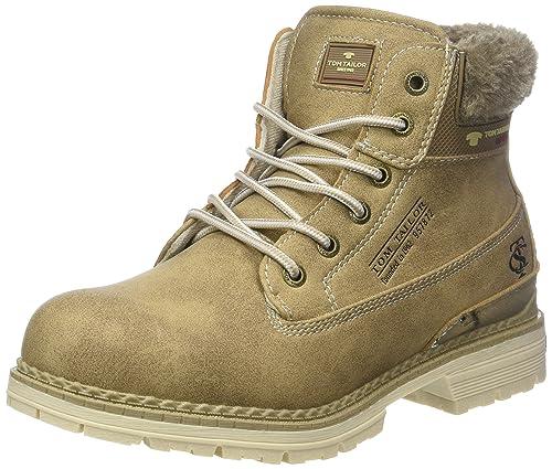 on sale 38ca9 805f0 TOM TAILOR für Frauen Schuhe Winter-Boots mit abgesetzter Blende