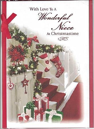 Merry Christmas Niece.Niece Christmas Card To A Very Special Niece Merry