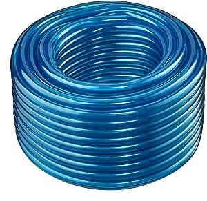Maxx Flex HydroMaxx Flexible Non-Toxic BPA Free Translucent Colored Vinyl Tubing - Blue - 3/4