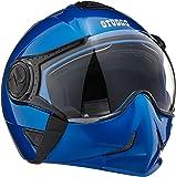 Studds Full Face Helmet Downtown (Flame Blue, L)