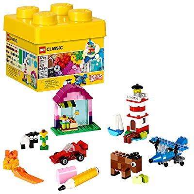 LEGO Classic Creative Bricks 10692 Building Blocks, Learning Toy (221 Pieces): Toys & Games