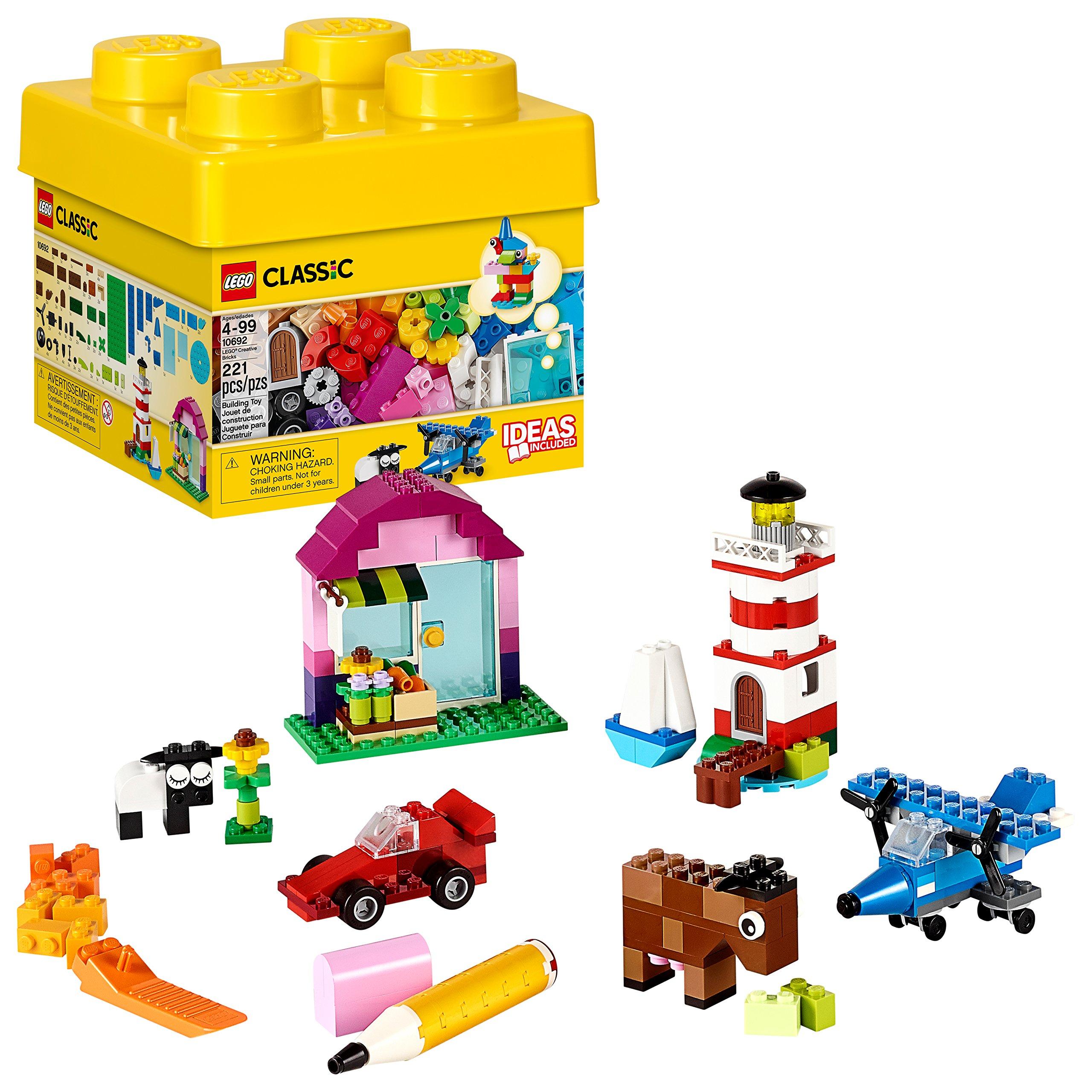 LEGO Classic Creative Bricks 10692 Building Blocks, Learning Toy