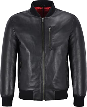 SRHides Mens Fashion Distressed Leather Coat