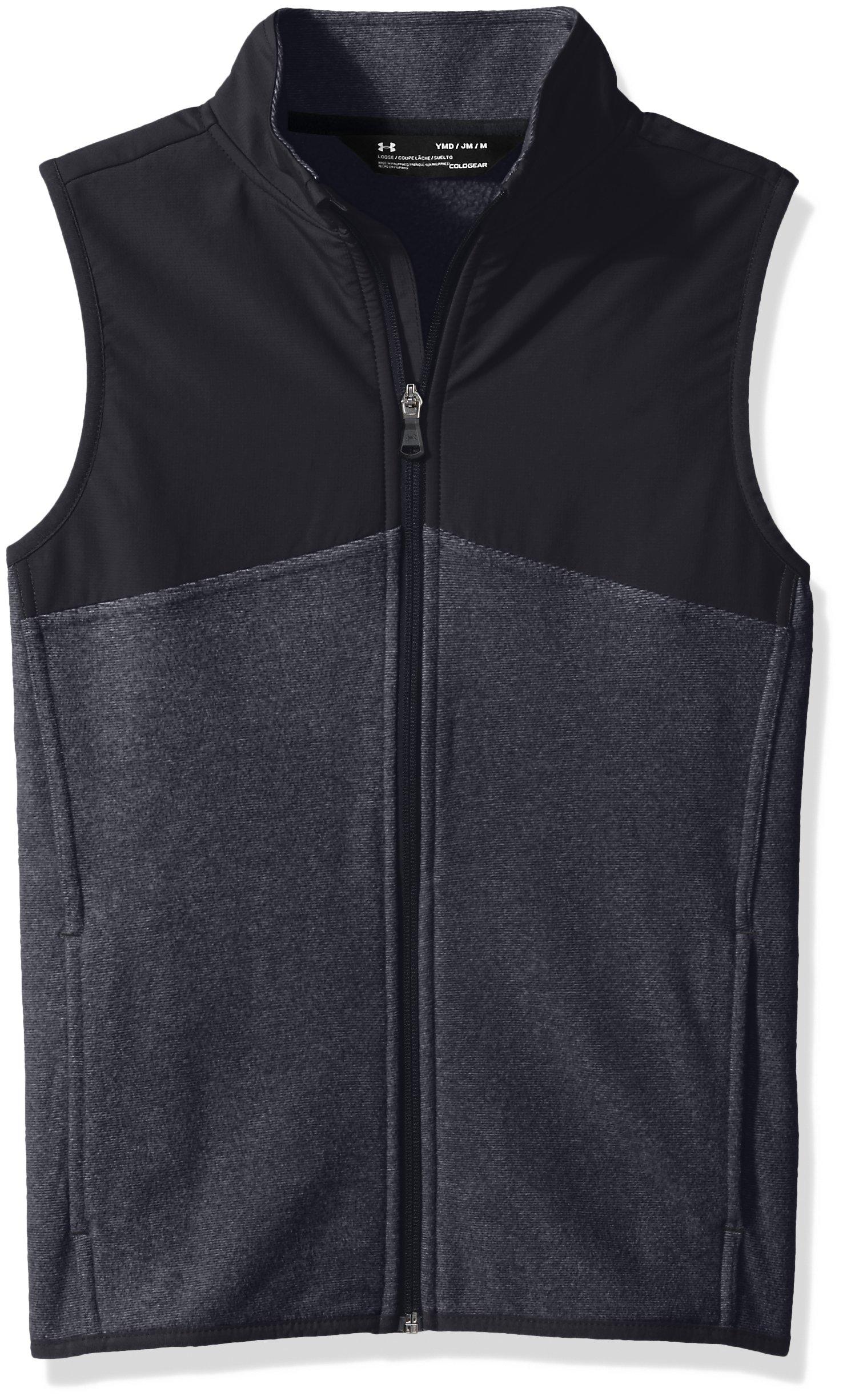Under Armour Boys' Phenom Vest,Black (001)/Black, Youth X-Large