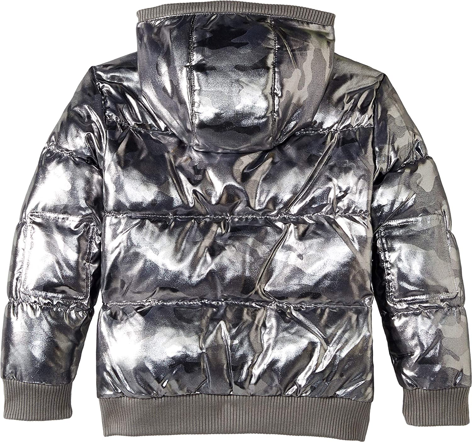 Infant//Toddler//Little Kids//Big Kids Appaman Kids Mens Puffy Coat with Hood and Front Pockets