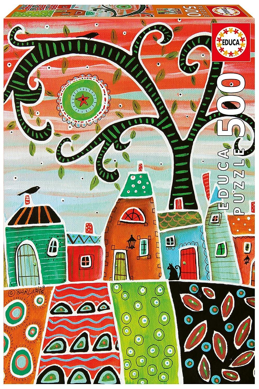 Inc us toys JOHO9 17091.0 Hansen Co Educa Childrens 500 White Trim Karla Gerard Puzzle John N