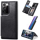 Migeec Samsung Galaxy Note 20 Ultra 5g Case with Card Holder - Wallet Case [Shockproof] with PU Leather Card Pockets…