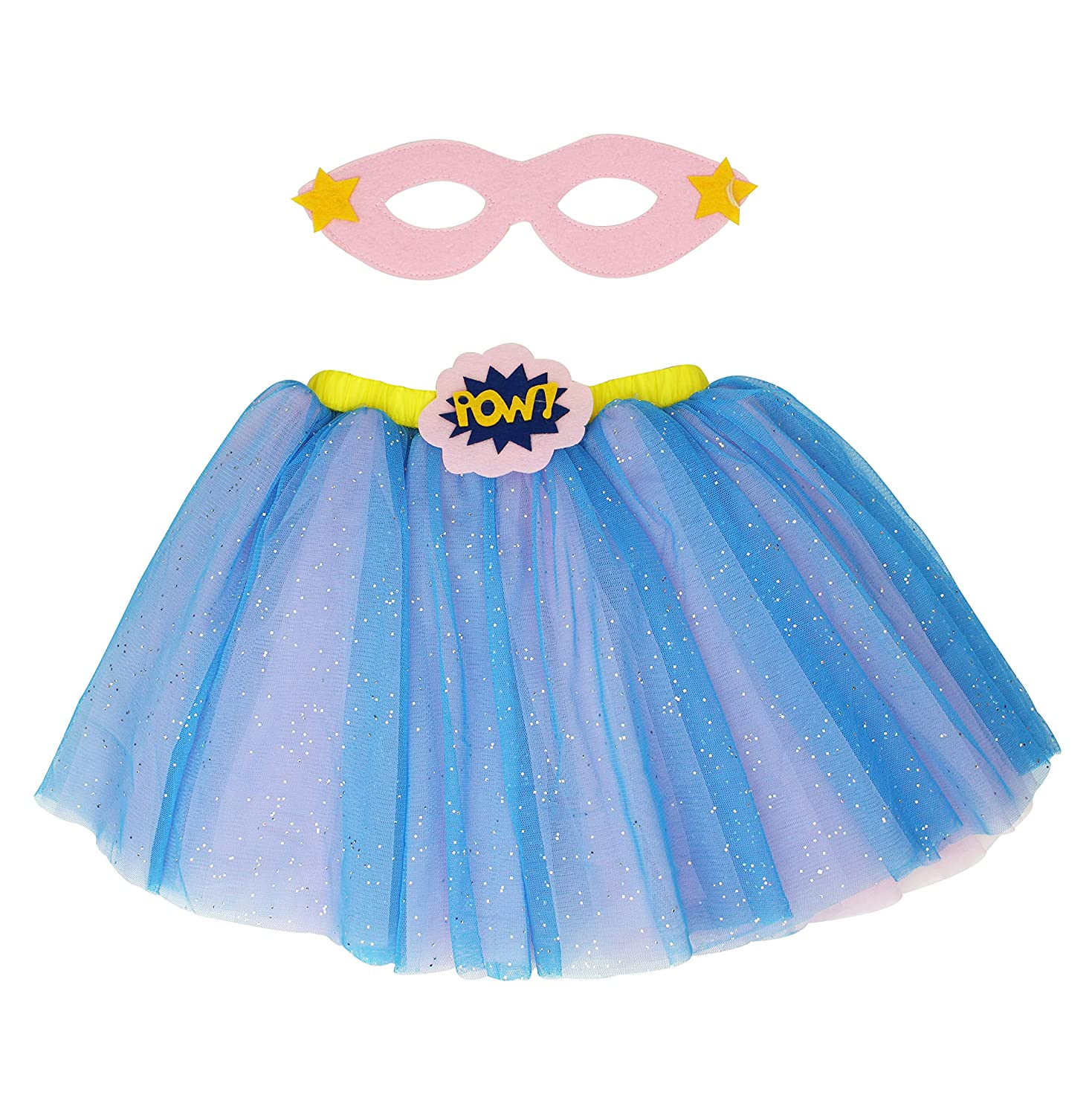 Popatu Supergirl Skirt with Eye Cover