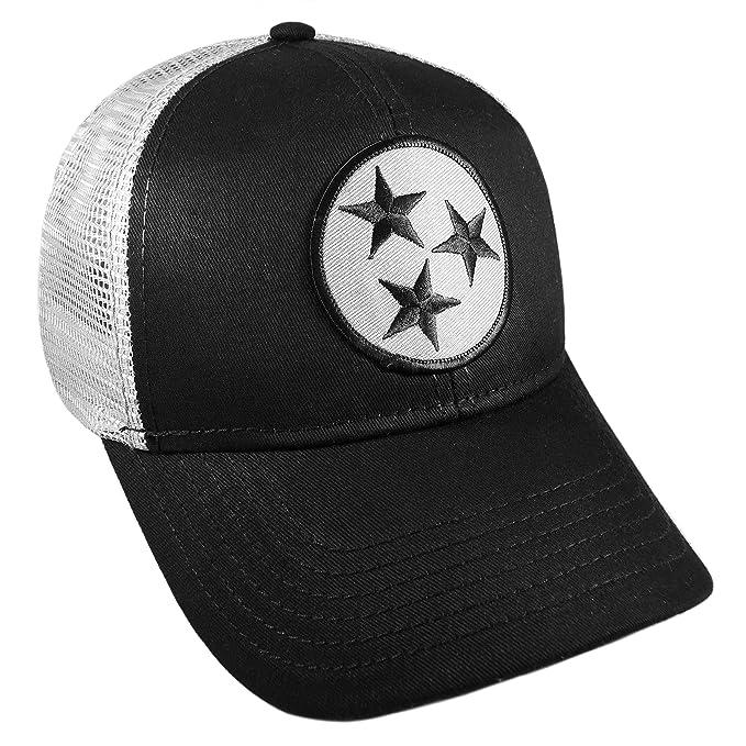 54d7e1d6 Strange Cargo Tennessee Flag Black and Grey Curved Brim Cap Hat Snapback  Adjustable