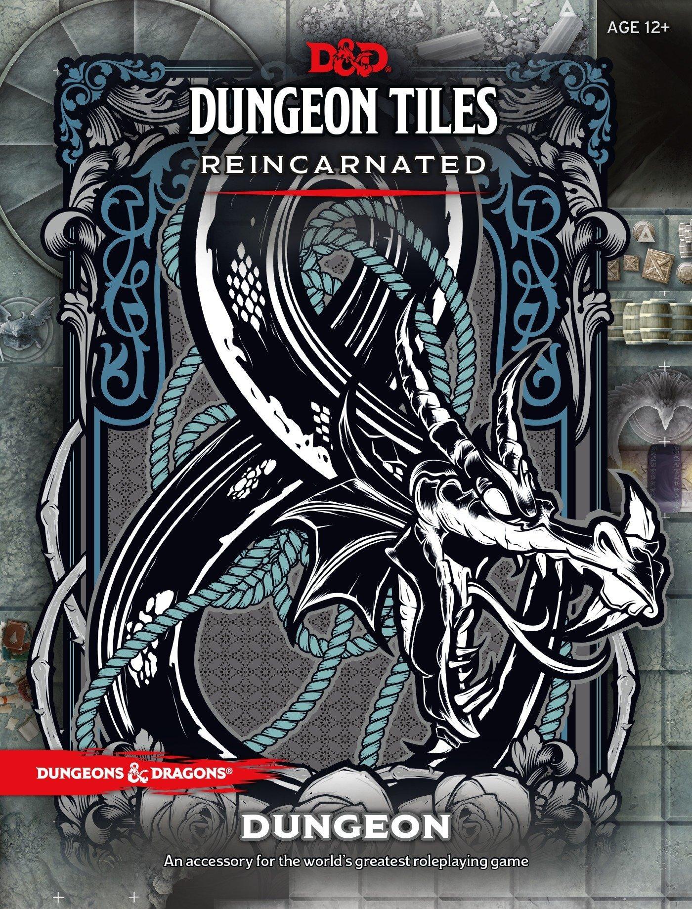 D&d Dungeon Tiles Reincarnated: Dungeon: Amazon.es: Wizards Rpg Team: Libros en idiomas extranjeros