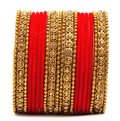 Jewelry & Watches Indian Fashion Designer Chudi Set New Blue Bangles Set Women Collection Modern And Elegant In Fashion Engagement & Wedding