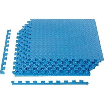 reliable AmazonBasics Interlocking Tiles
