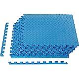 AmazonBasics EVA Foam Interlocking Exercise Gym Floor Mat Tiles
