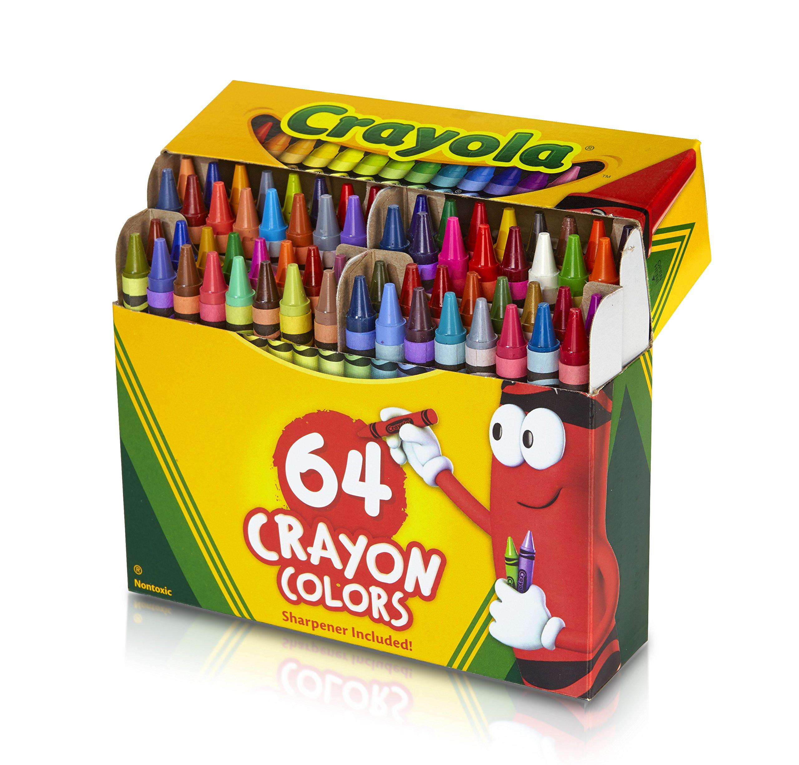 crayola 64 ct crayons 52 0064 new free shipping - Free Crayola Crayons