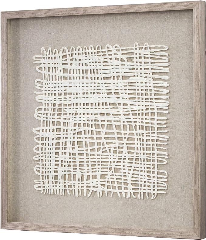 Amazon Com American Art Decor Handmade Rice Paper Framed Shadow Box Wall Art 24 X 24 Home Kitchen
