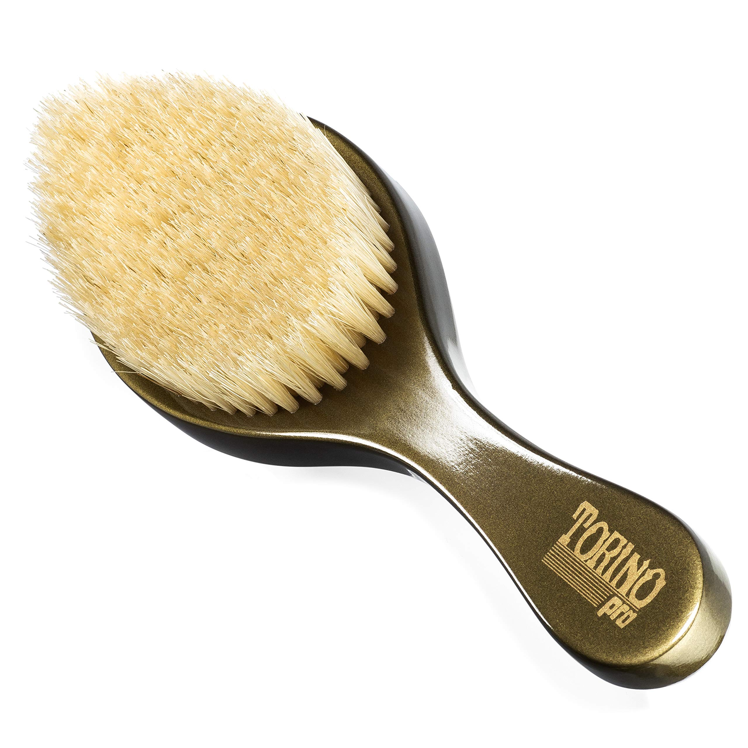 Torino Pro Wave Brush #1520 - By Brush King - Medium Curve 360 Waves Brush