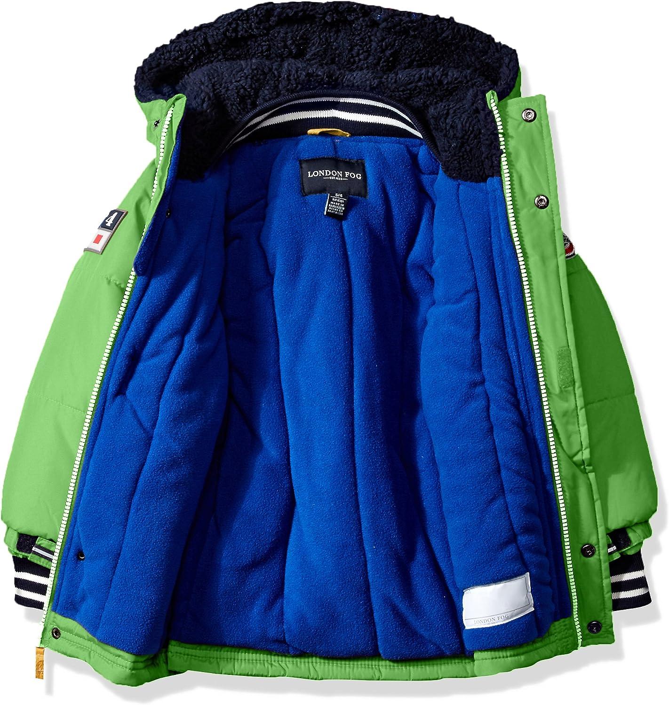 London Fog Baby Boys Heavyweight Shirt Pocket Parka Coat