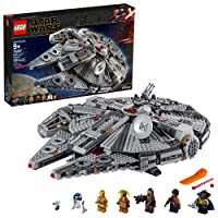 LEGO Star Wars: The Rise of Skywalker Millennium Falcon 75257 Starship Model Building...