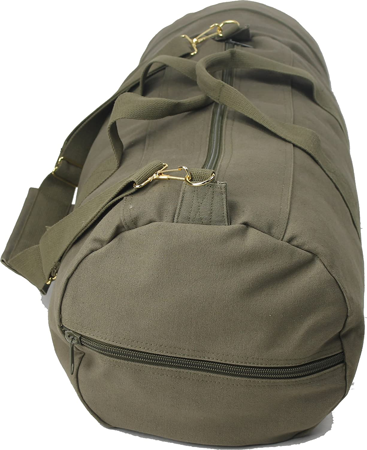 Olive Drab - Military Double-Ender Sports Shoulder Bag (Cotton Canvas) by Army  Universe  Amazon.in  Sports 88cc2bb6c00