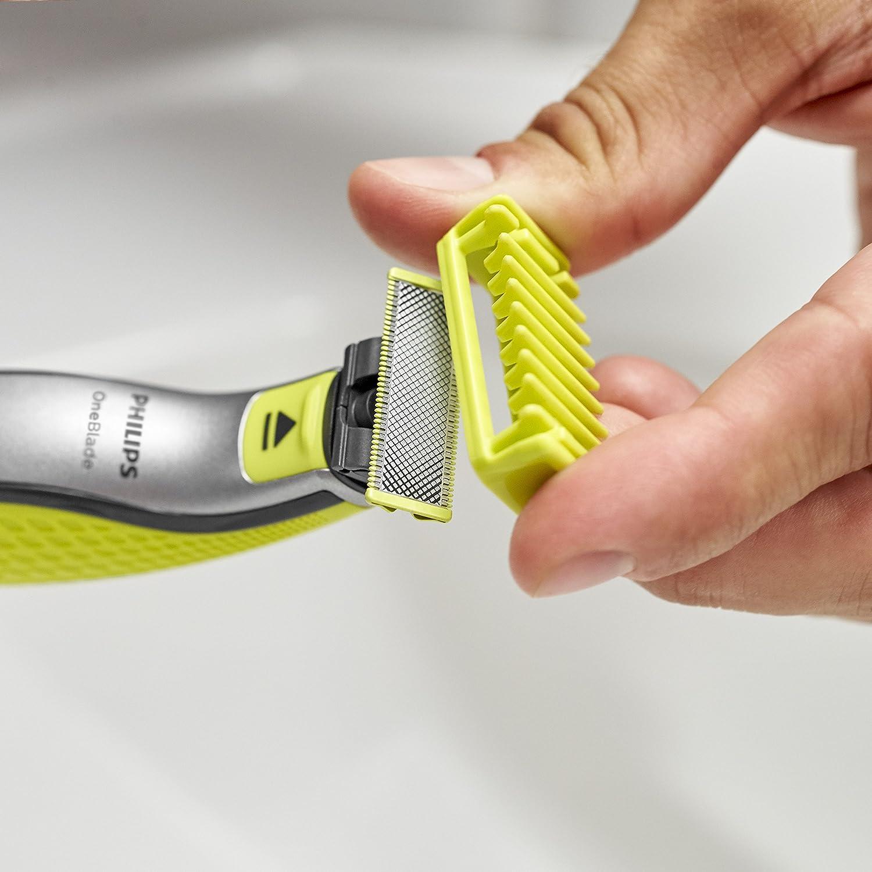 Philips OneBlade cara y cuerpo QP610/50 - Cuchilla de recambio ...