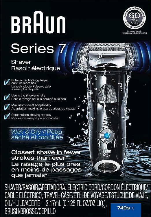 Braun Series 7 – Afeitadora con lámina 740s-6 Wet & Dry eléctrica ...