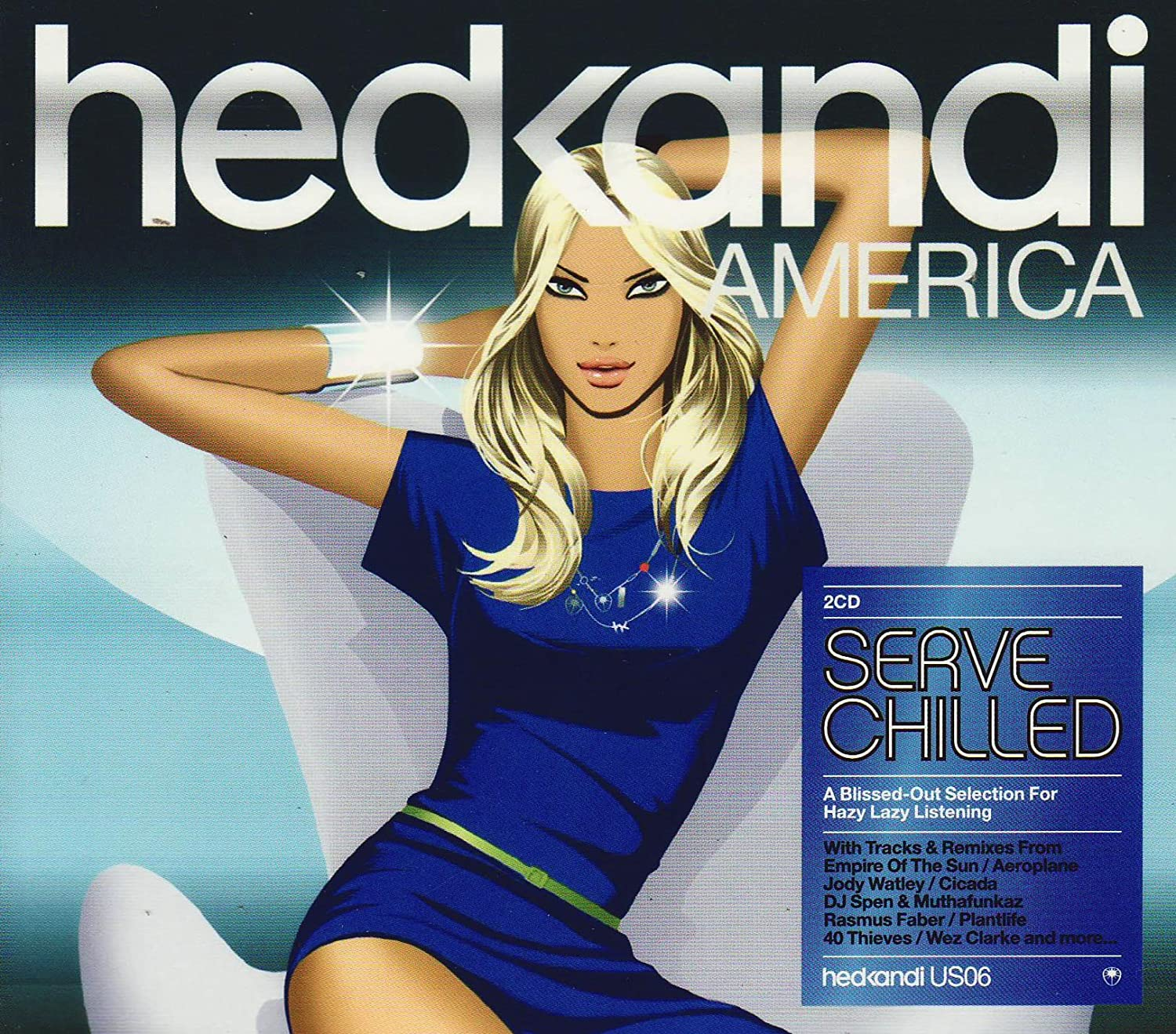 Hed kandi: serve chilled (cd, compilation, mixed) | discogs.