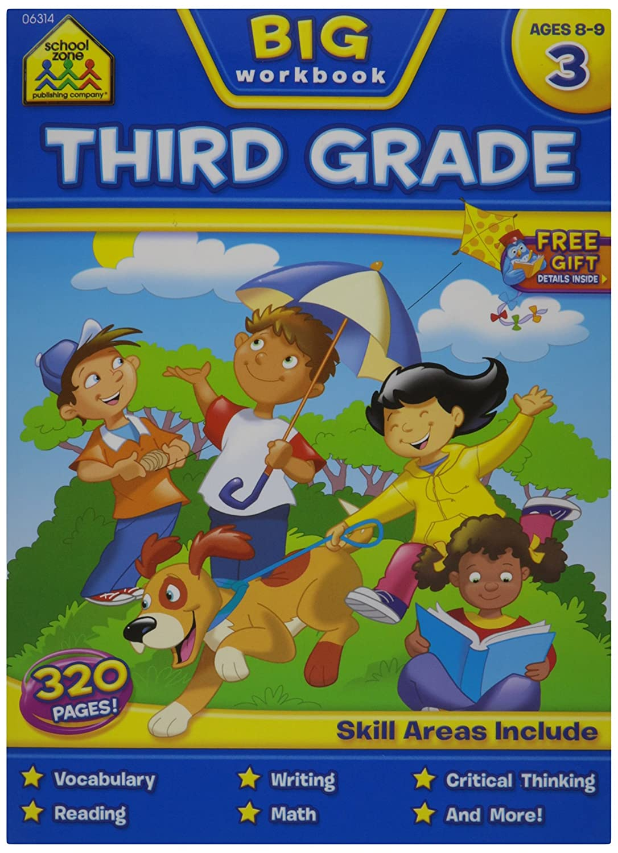 Workbooks big third grade workbook : Amazon.com: School Zone Big Workbook, Third Grade: Arts, Crafts ...