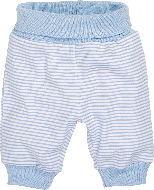 Schnizler 800911, Pantaloni Unisex - Bimbi 0-24, Blu (Weiß/Bleu 117), 50