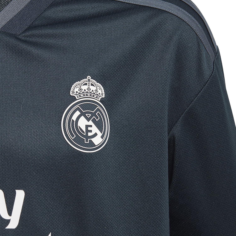 Amazon.com: adidas fútbol juvenil Real Madrid Away Jersey ...