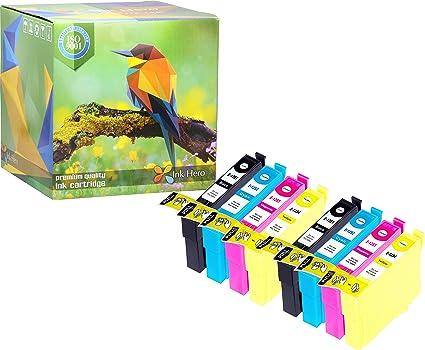 HERO 8 de tinta cartuchos de tinta para Epson T1285 T1281 lápiz ...