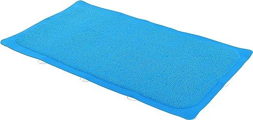 Foldable Non Slip Rubber Bath Mat For Textured Tub /& Reglazed Suction Honeycomb