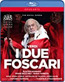 Verdi: I Due Foscari [Placido Domingo; Francesco Meli; Maria Agresta; Royal Opera Chorus; Orchestra of the Royal Opera House,Antonio Pappano] [Opus Arte: BLU RAY] [Blu-ray]